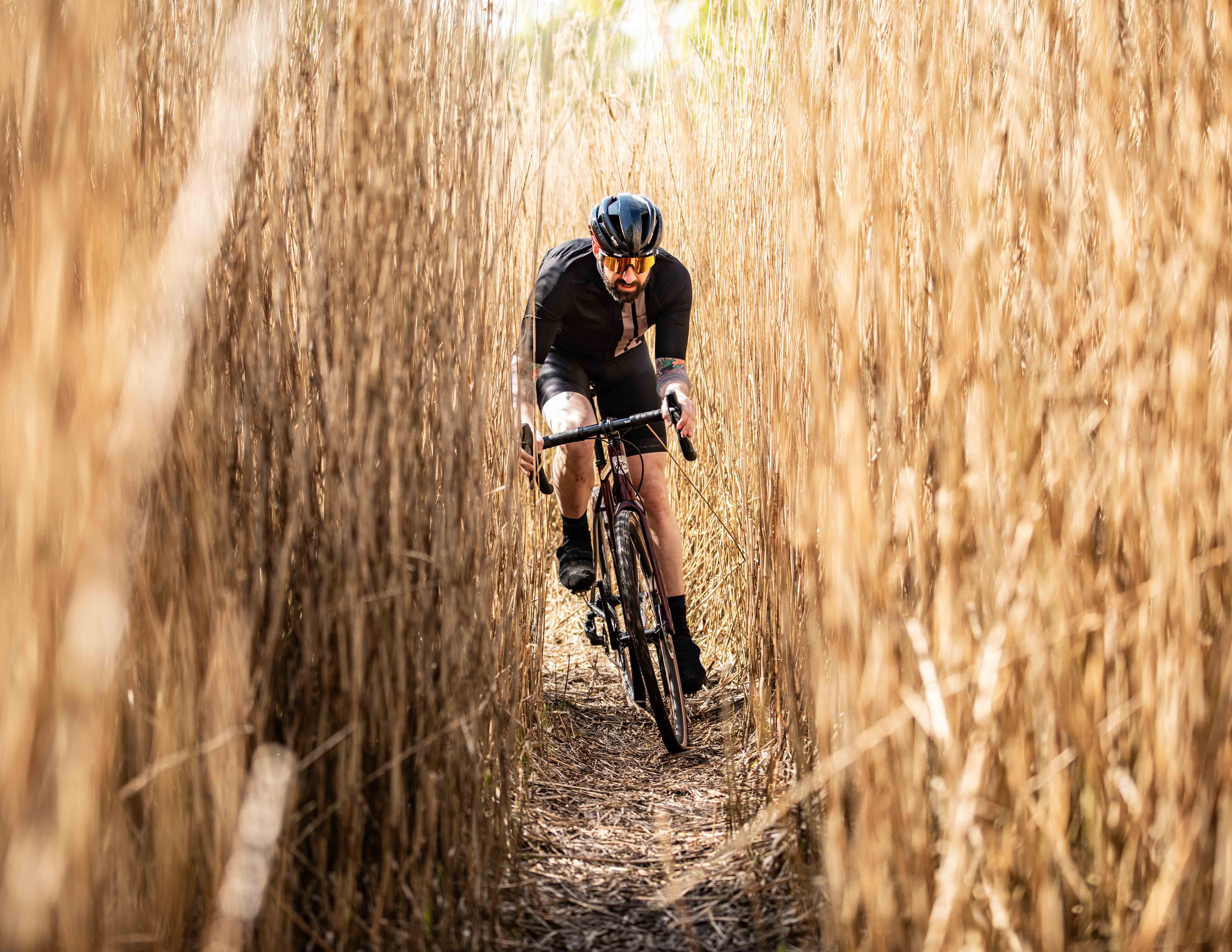 Discovering new spots with the MyCorsa gravel bike.