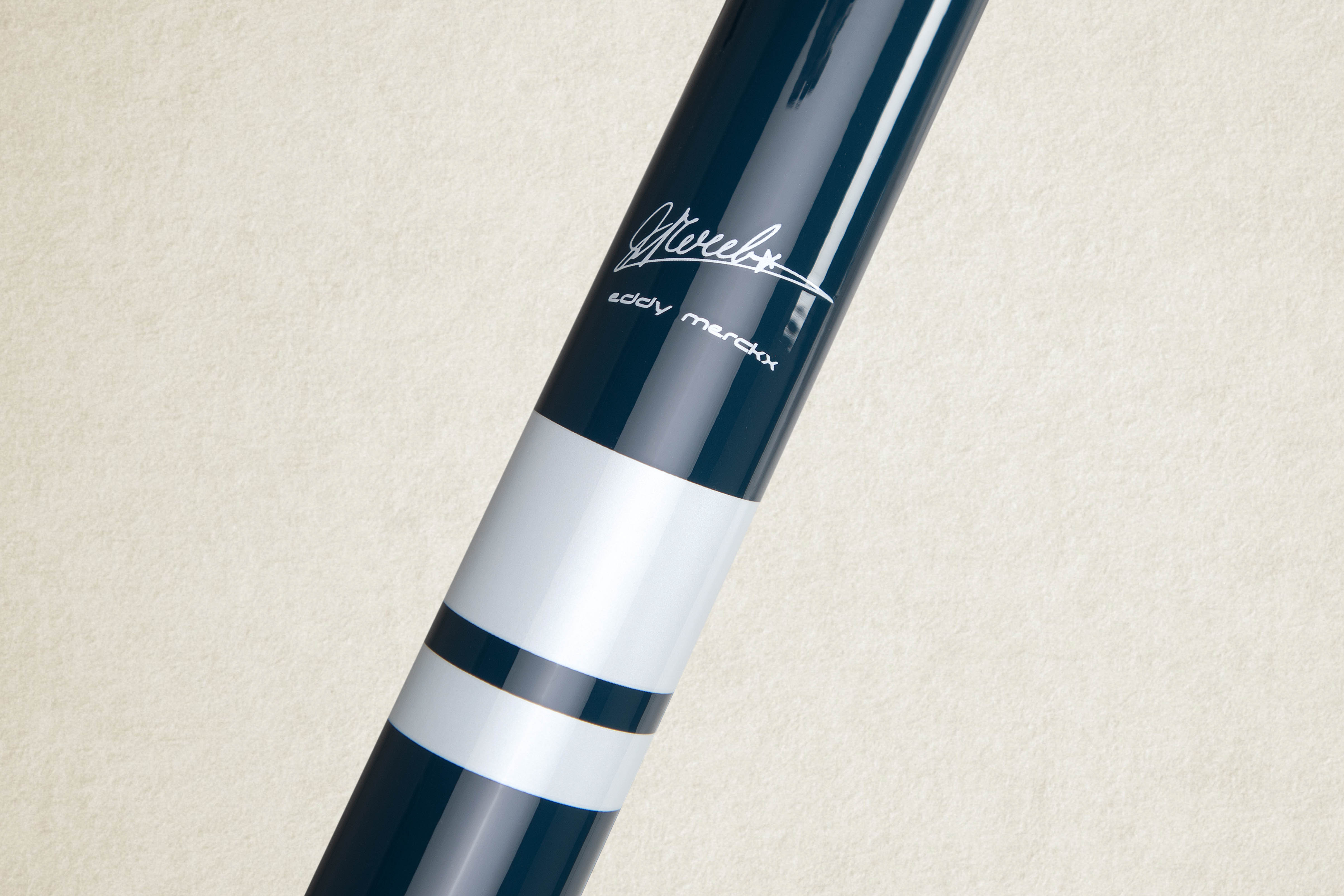 Every steel Criterium has the original Eddy Merckx signature on the top tube.